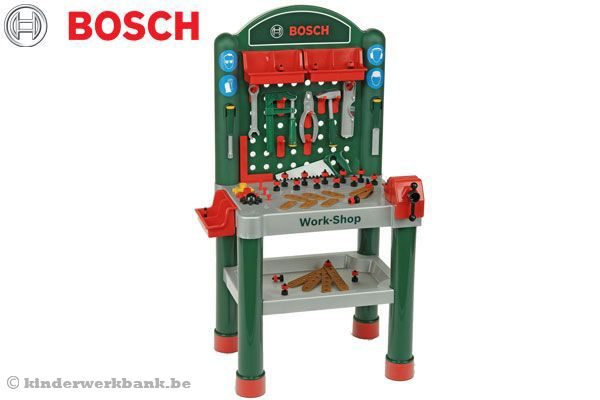 Bosch Werkbank luxe | Kinderwerkbank.be